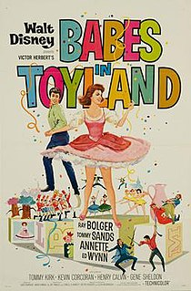 <i>Babes in Toyland</i> (1961 film) 1961 film