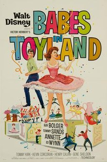 Babes in toyland 1961 poster.jpg