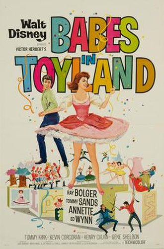 Babes in Toyland (1961 film) - Theatrical release poster