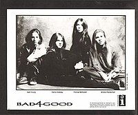 Bad4Good (from left to right) Zack Young, Danny Cooksey, Thomas McRocklin, and Brooks Wackerman