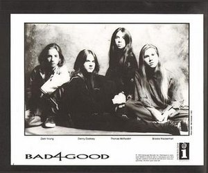 Bad4Good - Bad4Good (from left to right) Zack Young, Danny Cooksey, Thomas McRocklin, and Brooks Wackerman