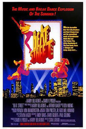 Beat Street - Theatrical release poster
