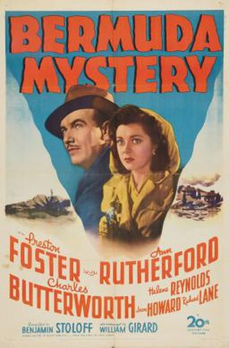 Bermuda Mystery - Theatrical release poster