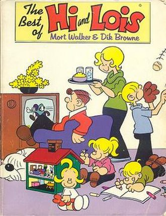 Hi and Lois - The Best of Hi and Lois (1986) was reprinted in 2005.