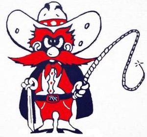 Billy Ryan High School - Image: Billy Ryan High School Raider Mascot
