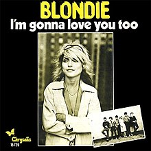"European edition of the ""I'm Gonna Love You Too"" single, unlike the US edition issued with a proper picture sleeve."