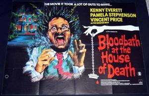 Bloodbath at the House of Death - Kenny Everett on the film poster
