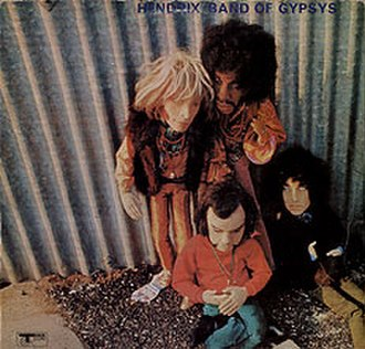 Band of Gypsys - Original Track Records Band of Gypsys album cover (front)