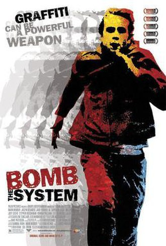 Bomb the System - Promotional movie poster