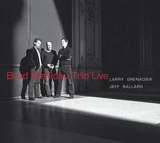 <i>Brad Mehldau Trio Live</i> 2008 live album by Brad Mehldau Trio