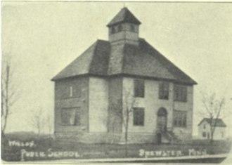 Brewster, Minnesota - First public school in Brewster, Minnesota