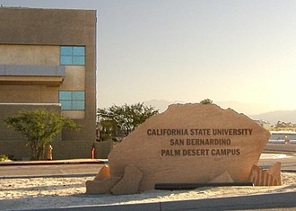 California State University - CSU San Bernardino Palm Desert Campus.