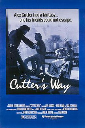 Cutter's Way - Theatrical poster