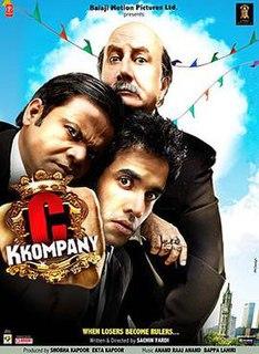 <i>C Kkompany</i> 2008 film irected by Sachin Yardi