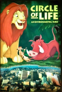 <i>Circle of Life: An Environmental Fable</i> former film shown in the Land Pavillion at Epcot in Walt Disney World