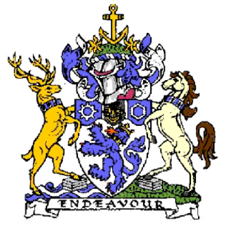 Cleveland, England - Arms of the former Cleveland County Council