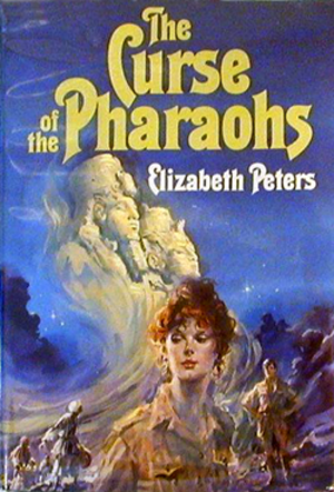 The Curse of the Pharaohs (novel) - First edition cover for The Curse of the Pharaohs
