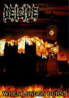 <i>When London Burns</i> 2006 video by Deicide