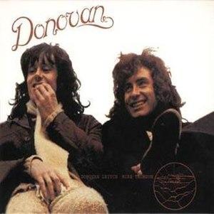 Open Road (Donovan album) - Image: Donovan Open Road