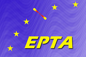 European Pulsar Timing Array - The EPTA logo.