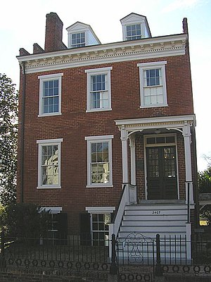 Sarah Elmira Royster - Former residence of Elmira Shelton, Richmond, Grace Street
