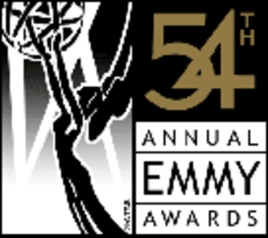 54th Primetime Emmy Awards - Promotional poster