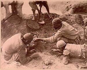 Oxyrhynchus Papyri - Excavations at Oxyrhynchus 1, ca. 1903.