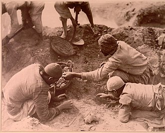 Oxyrhynchus Papyri - Excavations at Oxyrhynchus 1, ca. 1903.