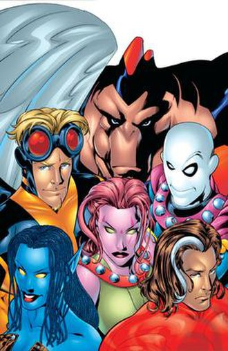 Exiles (Marvel Comics) - Image: Exiles 1 cover