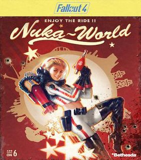 <i>Fallout 4: Nuka-World</i> Fallout 4 expansion pack
