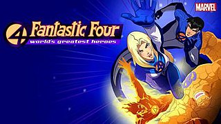 <i>Fantastic Four: Worlds Greatest Heroes</i> 2006 animated series based on the Marvel characters