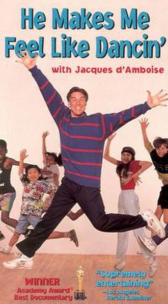 He Makes Me Feel Like Dancin' - VHS Cover