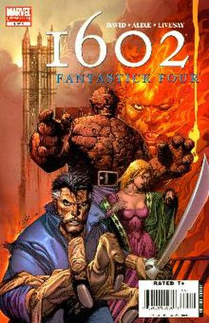 Marvel 1602: Fantastick Four - Image: Ff 1602no 1cover