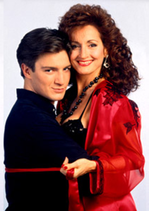 Joey Buchanan - Joey (Nathan Fillion) and Dorian (Robin Strasser), 1994