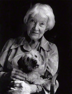 Dilys Powell - in 1984  Lucinda Douglas-Menzies / National Portrait Gallery