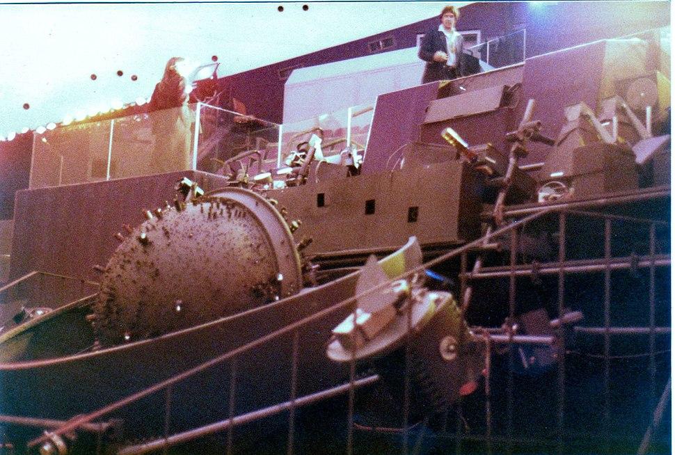 Fleet Theatre Sptiz projector array 1974