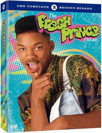 The Fresh Prince of Bel-Air (season 2) - DVD cover
