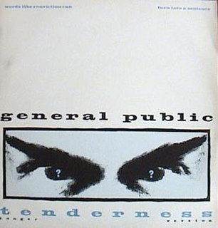 Tenderness (song) 1984 single by General Public
