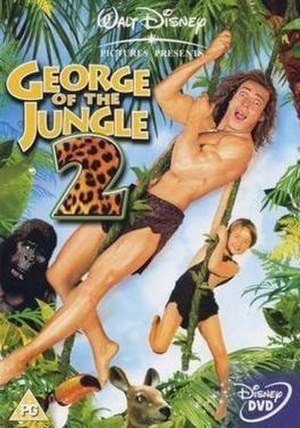 George of the Jungle 2 - UK DVD cover