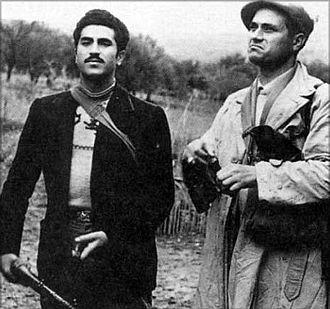 The Sicilian - Aspanu Pisciotta (left) and Salvatore Giuliano in real life