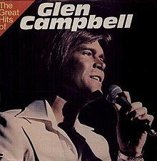 Glen Campbell The Great Hits of Glen Campbell album cover.jpg