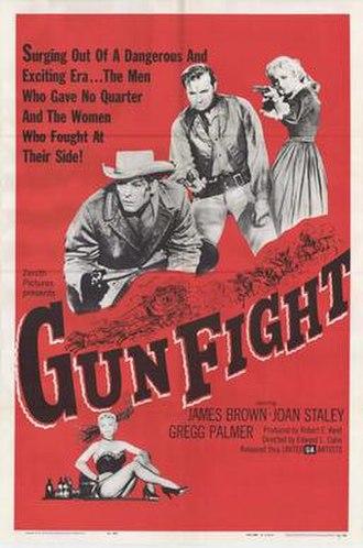 Gun Fight (film) - Image: Gunfightpos