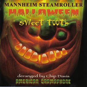 Halloween: Sweet Tooth - Image: Halloween Sweet Tooth (Mannheim Steamroller album cover art)