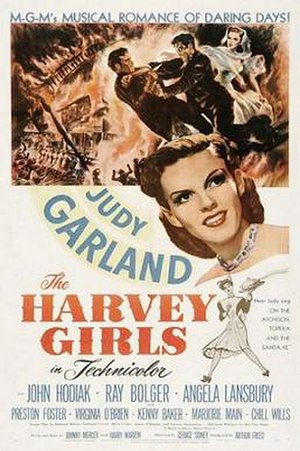 The Harvey Girls - theatrical poster