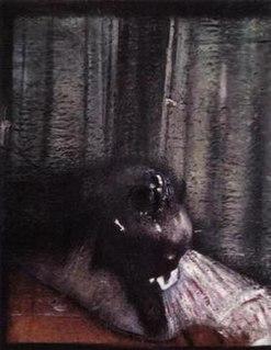 <i>Head II</i> painting by Francis Bacon