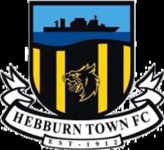 Hebburn Town F.C. - Image: Hebburn Town F.C. logo
