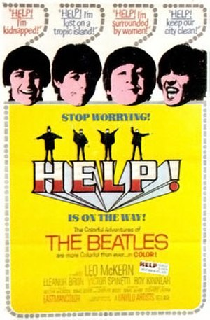 Help! (film) - Theatrical release poster