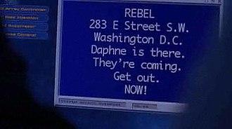 Exposed (Heroes) - REBEL tells Peter Petrelli (Milo Ventimiglia) and Matt Parkman (Greg Grunberg) where Daphne Millbrook (Brea Grant) is.