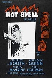 <i>Hot Spell</i> (film) 1958 film by George Cukor, Daniel Mann