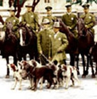 History of the Houston Police Department - The HPD Mounted Horse Traffic Squad